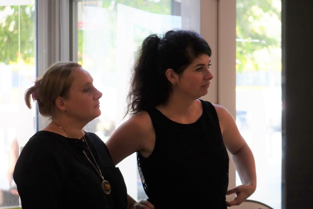 Danuta Wieczorkiewicz i Marta Soczewka